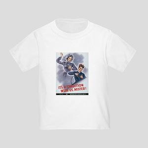 Women WII Toddler T-Shirt