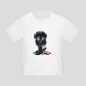 Affenpinscher Pattern Toddler T-Shirt