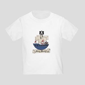 Ahoy Matey Pirate Toddler T-Shirt