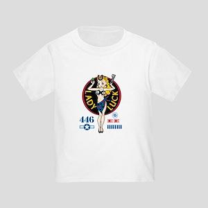 Lady Luck Nose Art Toddler T-Shirt