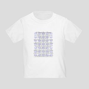 DISPATCHERS PRAYER Toddler T-Shirt