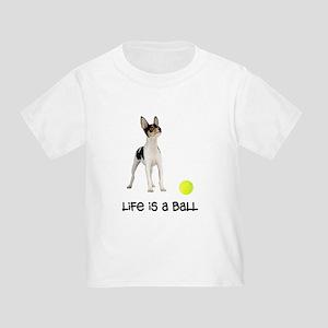 Toy Fox Terrier Life Toddler T-Shirt