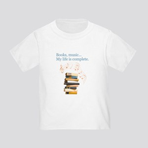 Books and music Toddler T-Shirt