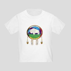 White Buffalo Toddler T-Shirt