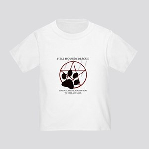 Hell Hounds Rescue wt Toddler T-Shirt