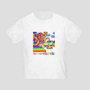Retro Rainbow Hippie Van T-Shirt