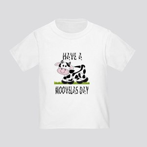 Cute Cow Moovalas day Toddler T-Shirt