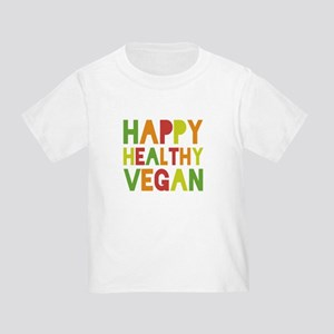 Happy Vegan Toddler T-Shirt