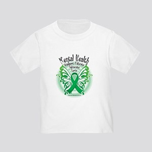 Mental Health Butterfly 3 Toddler T-Shirt