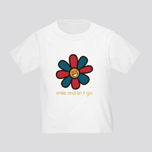 Smile and Let It Go Toddler T-Shirt