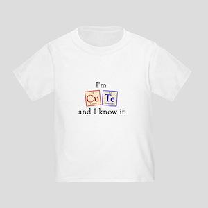 I'm Cute Toddler T-Shirt