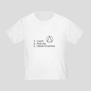 First Three Steps Toddler T-Shirt