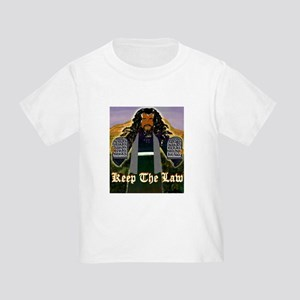 Keep the Law...Moses Toddler T-Shirt