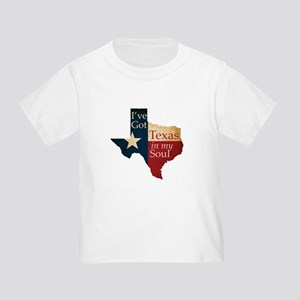 Texas in my Soul Toddler T-Shirt