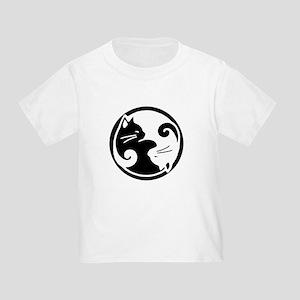 Yin Yang Cats: Toddler T-Shirt