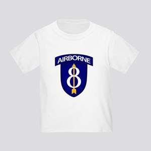 8th Infantry Airborne Toddler T-Shirt