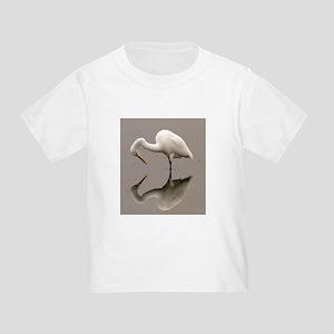 Stork Reflection Toddler T-Shirt