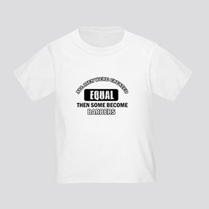 Cool Barbers designs Toddler T-Shirt