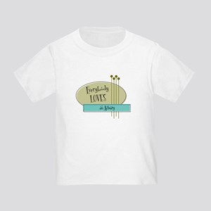 Everybody Loves an Actuary Toddler T-Shirt