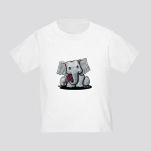 KiniArt Elephant Toddler T-Shirt