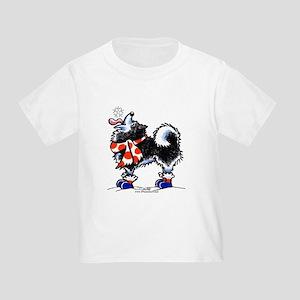 Alaskan Malamute Snowflake Toddler T-Shirt