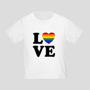 Gay Love Toddler T-Shirt