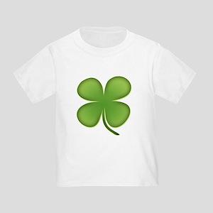 Lucky Irish Four Leaf Clover Toddler T-Shirt