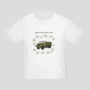 M35A2 Cargo Truck Toddler T-Shirt