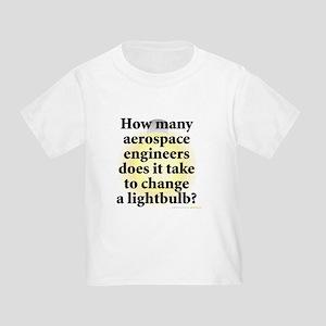 Aerospace Engineer Toddler T-Shirt