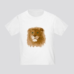 Realistic Lion Toddler T-Shirt