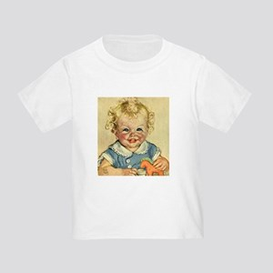 Vintage Cute Baby Toddler T-Shirt