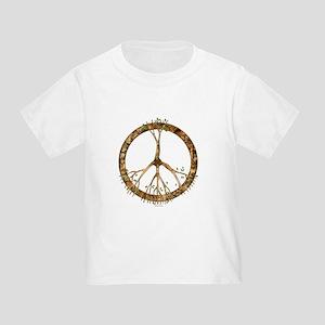 Peace Tree Toddler T-Shirt