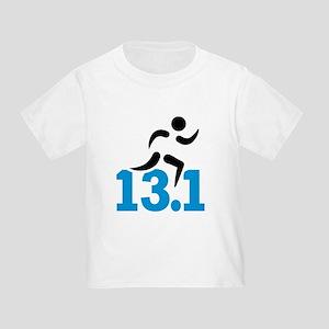 Half marathon 13.1 miles Toddler T-Shirt