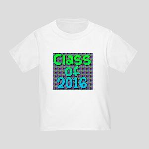 Class of 2016 - on bright swirls T-Shirt