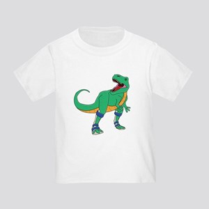 Dino with Leg Braces Toddler T-Shirt
