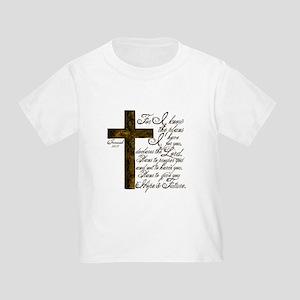 Plan of God Jeremiah 29:11 Toddler T-Shirt