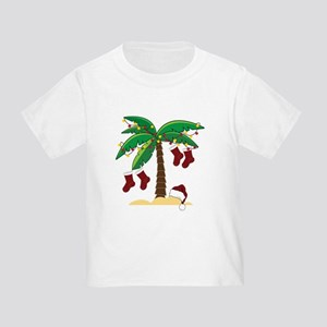 Tropical Christmas Toddler T-Shirt