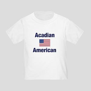 Acadian American Toddler T-Shirt