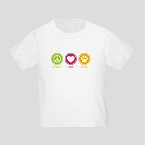 Peace - Love - Dogs 1 Toddler T-Shirt