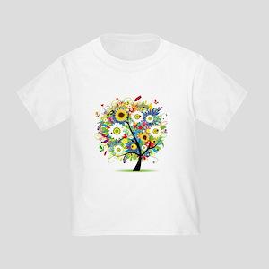 summer tree Toddler T-Shirt