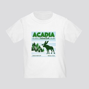 Cool Acadia National Park Vintage Moose Pr T-Shirt