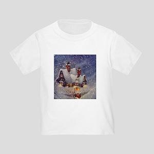 Vintage Christmas North Pole T-Shirt