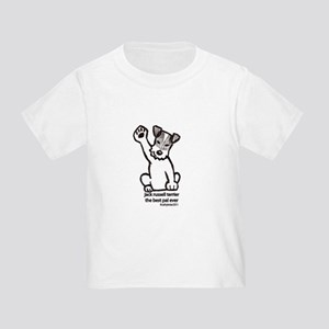 Jack Russell Greeting Toddler T-Shirt