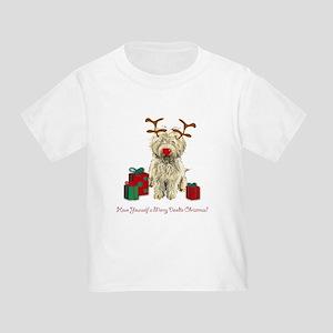 Merry Doodle Christmas Toddler T-Shirt