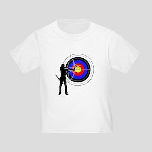 archery man Toddler T-Shirt
