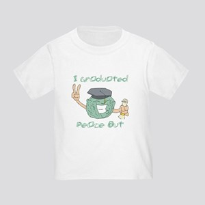 I Graduated, Peace Out Toddler T-Shirt