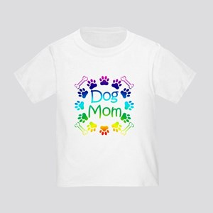 """Dog Mom"" Toddler T-Shirt"