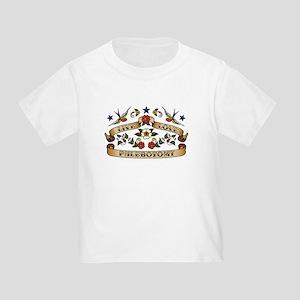 Live Love Phlebotomy Toddler T-Shirt