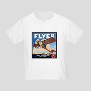 The Orange Ad Plane Toddler T-Shirt