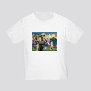 Saint Francis & Boxer Toddler T-Shirt